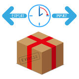 Express import express package Royalty Free Stock Images