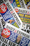 Daily Express Newspaper Royalty Free Stock Photography