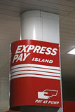 Express pay sign Royalty Free Stock Photo