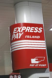 Express pay sign Stock Photography