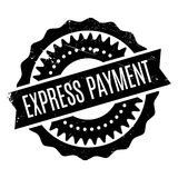 Express Payment rubber stamp Royalty Free Stock Images