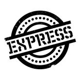 Express rubber stamp Stock Photography