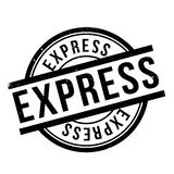 Express rubber stamp Royalty Free Stock Photos