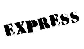 Express rubber stamp Royalty Free Stock Photo