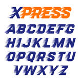 Express service font Stock Photos