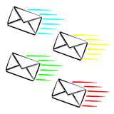 Express SMS message Royalty Free Stock Image