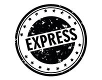 Express stamp Royalty Free Stock Photo