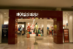 Express store. In Bellevue Square, Washington, USA stock images