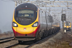 Express train Pendolino Royalty Free Stock Photography