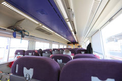 Express train services between Sapporo and Hakodate Stock Photo