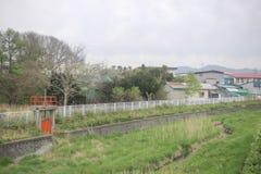 express train view of  Sapporo and Asahikawa Royalty Free Stock Images
