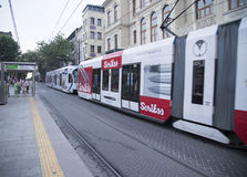 Express tramway Stock Photo