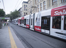 Express tramway Royalty Free Stock Photos