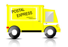 Express truck Stock Photos