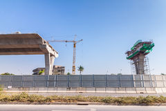 Express way construction site Stock Photography