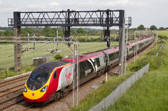 Express WCML train Royalty Free Stock Photography