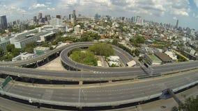 Expressay in Bangkok, Thailand. stock video footage