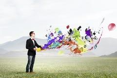 Expresse sua individualidade criativa imagens de stock