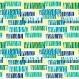 Expressi de répétition géométrique de métier de main de rayures lumineuses sans couture illustration stock
