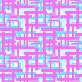 Expressi de répétition géométrique de métier de main de rayures lumineuses sans couture illustration de vecteur