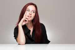 Expressief gezicht. Stock Foto