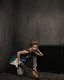 Expressief meisje Royalty-vrije Stock Foto