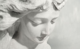 Expressieve engel Royalty-vrije Stock Fotografie