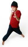 Expressieve jongen Stock Foto