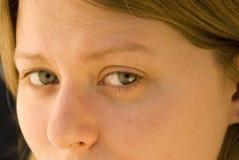 Expressieve ogen Stock Foto's