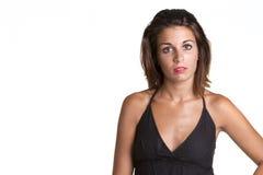 Expressieve vrouw Royalty-vrije Stock Afbeelding