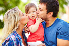 Expressing affection Royalty Free Stock Photos