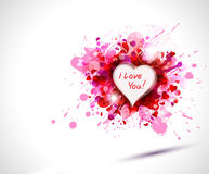Expressing heart Stock Photography