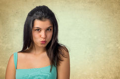 Expressing a Kiss Stock Photography