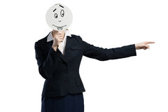 Expressing positivity Stock Images