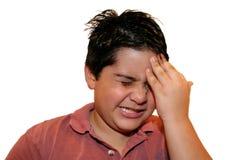 Expression 2 de douleur photographie stock