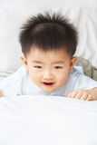 Expression of Asian toddler Royalty Free Stock Images
