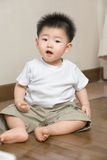 Expression of Asian toddler Stock Photography
