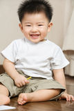 Expression of Asian toddler Royalty Free Stock Photography