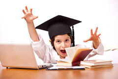 Expression child education Stock Photography