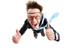 Expression of coolness Stock Photography
