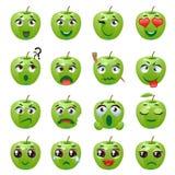 Expression d'émoticône d'Apple Emoji illustration de vecteur