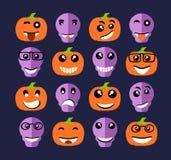 Expression d'émoticône d'Emoji Illustration Libre de Droits