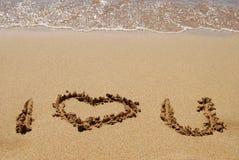 Expression de l'amour image libre de droits