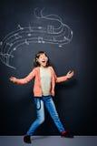 Expression de musique image stock