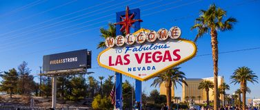 Expression des condoléances au signe de Las Vegas après attaque de terreur - LAS VEGAS - NEVADA - 12 octobre 2017 Photos stock