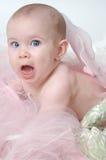 Expression drôle de visage de chéri Photo stock