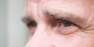 Expression of eyes Royalty Free Stock Images