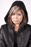 Expression girl crying Stock Images