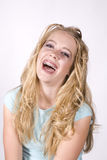 Expression girl laughing Stock Images