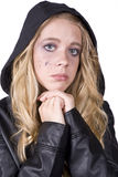 Expression girl sad look Stock Photos